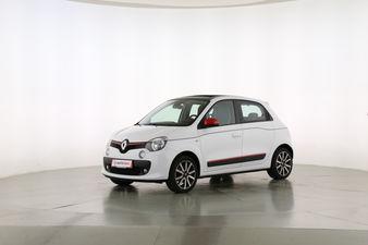 Renault Twingo 0.9 Energy Luxe Fahrerseite leicht seitlich von vorne, geschlossen