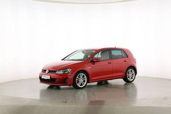 Volkswagen Golf VII 2.0 TDI GTD BlueMotion Tech Fahrerseite leicht seitlich von vorne, geschlossen