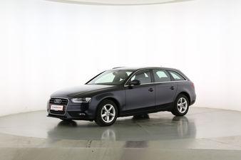 Audi A4 1.8 TFSI Ambiente Fahrerseite leicht seitlich von vorne, geschlossen