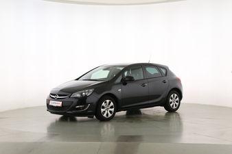 Opel Astra 1.4 Turbo Active Fahrerseite leicht seitlich von vorne, geschlossen
