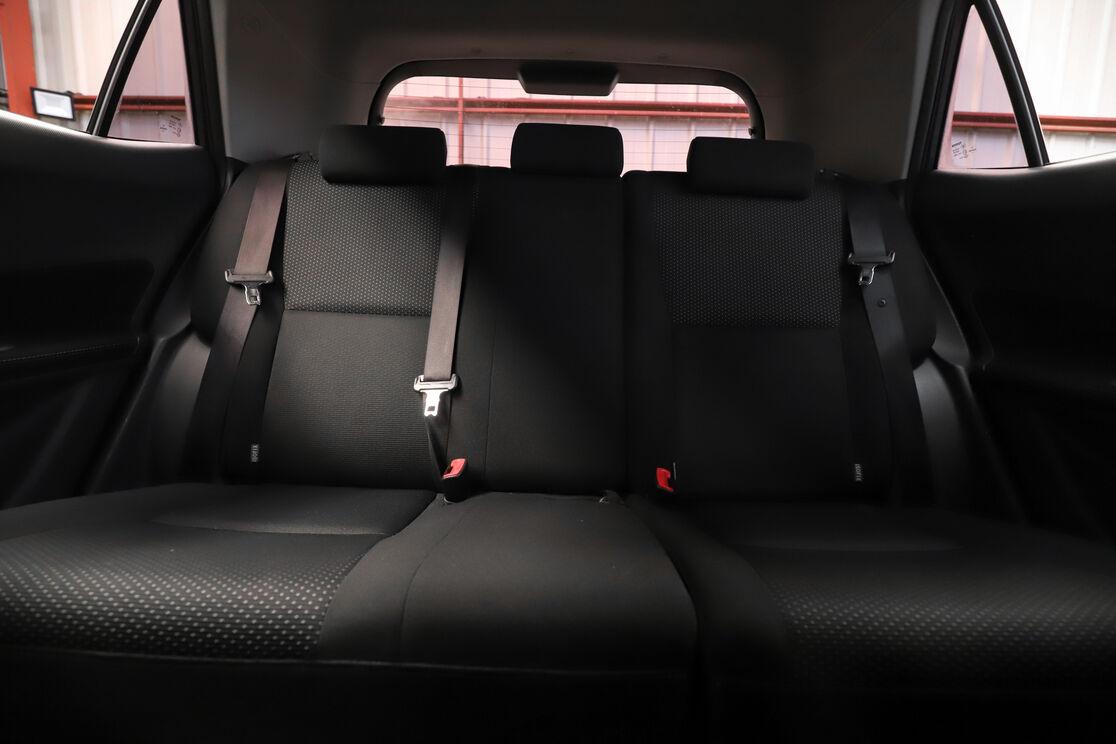 Interior asiento trasero