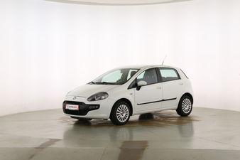 Fiat Punto 1.2 MyLife Fahrerseite leicht seitlich von vorne, geschlossen