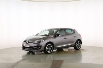 Renault Megane 1.2 TCE Energy BOSE Edition Fahrerseite leicht seitlich von vorne, geschlossen