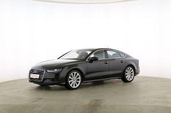Audi A7 Sportback 3.0 TDI quattro  Fahrerseite leicht seitlich von vorne, geschlossen