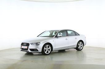 Audi A4 2.0 TFSI Ambition quattro Fahrerseite leicht seitlich von vorne, geschlossen