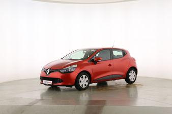 Renault Clio 1.2 Expression Fahrerseite leicht seitlich von vorne, geschlossen