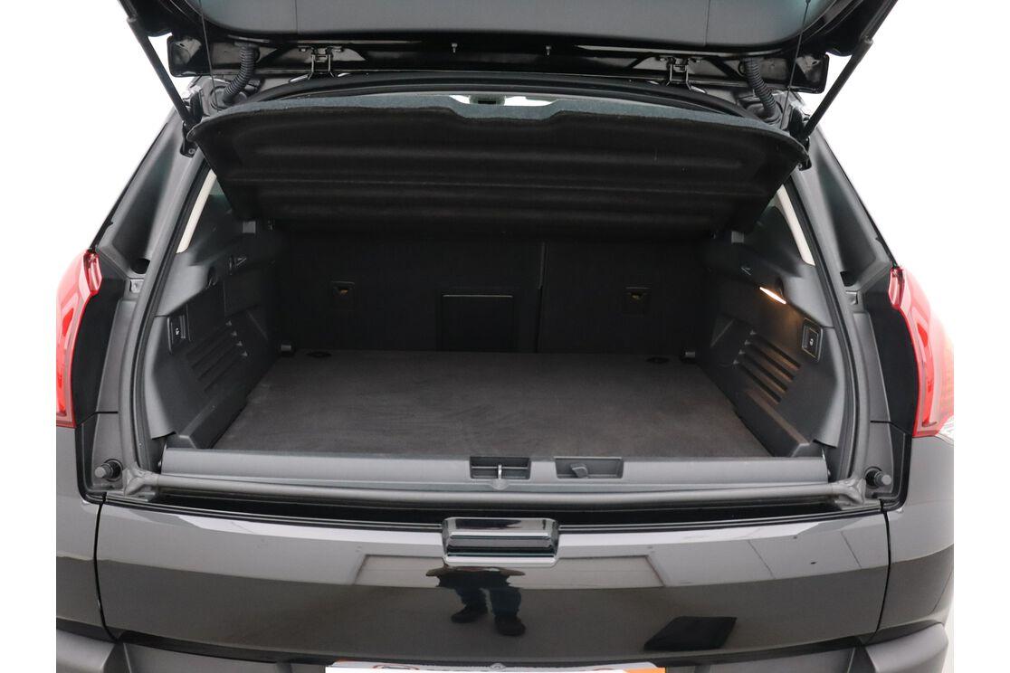 Interieur achterbank bestuurderszijde