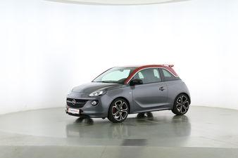 Opel Adam 1.4 Turbo S Fahrerseite leicht seitlich von vorne, geschlossen