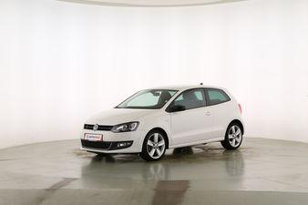 Volkswagen Polo 1.2 TSI Match Fahrerseite leicht seitlich von vorne, geschlossen
