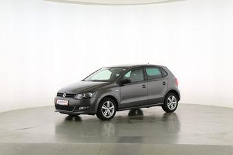 Volkswagen Polo 1.2 Match  Fahrerseite leicht seitlich von vorne, geschlossen