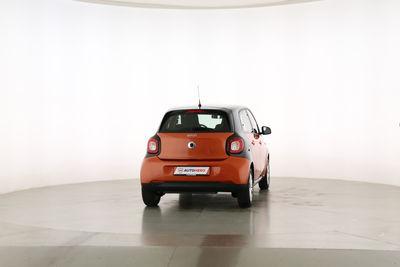 2015 Smart forfour 1.0 Basis passion Draufsicht Beifahrerseite, geschlossen