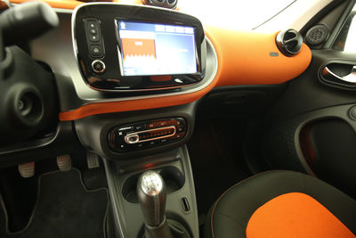2015 Smart forfour 1.0 Basis passion Mittelkonsole