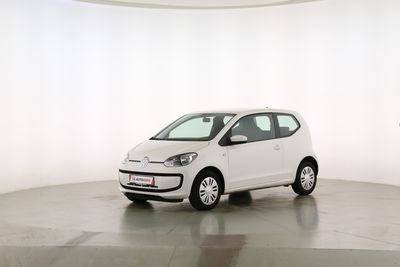 2012 Volkswagen up! 1.0 Move up! Fahrerseite leicht seitlich von vorne, geschlossen