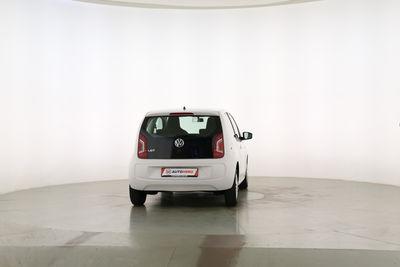 2012 Volkswagen up! 1.0 Move up! Draufsicht Beifahrerseite, geschlossen