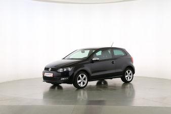 Volkswagen Polo 1.2 Black Edition  Fahrerseite leicht seitlich von vorne, geschlossen
