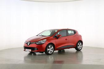 Renault Clio 0.9 Energy Dynamique Fahrerseite leicht seitlich von vorne, geschlossen